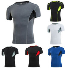 Compression Base Layer Tops Men Sports Pro Underwear T Shirts Athletic Apparel