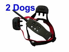2-Dog RECHARGEABLE Dog Remote Training Shock Collar