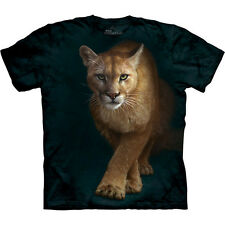 EMERGENCE Cougar T-Shirt The Mountain Lion Adult Mens Short Sleeve S-3XL NEW