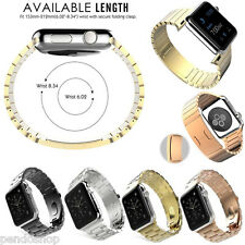 NEW iwatch Replacement 316L Stainless Steel Band Strap Bracelet For Apple IWatch