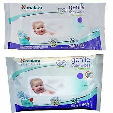 Himalaya Herbal Gentle Baby 24 & 72 Wipes Wholesale Price Lot of 10 & 20 Packs