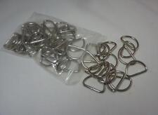3/4 inch D Rings 20mm  Metal Dee Rings Webbing Strapping