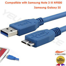 1M 2M 3M Super High Speed Micro USB 3.0 Cable Micro B Cord for Smasung Note 3 S5