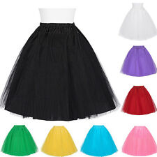 2 Layer Netting Crinoline Underskirt Vinatge Wedding bridal Petticoat Dress Slip