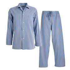 Morley Mens Zealus Brushed Cotton Long Pyjamas Sleepwear Nightwear UPY04M