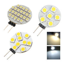 G4 5050/1210 SMD 6/9/12/24 LED Light Pure White Home Car Marine Boat Bulb WS