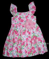 Pink Tangerine by BABY NAY Sweet Dreams Girls  Ruffle Dress 4X XXS Brand NEW NWT