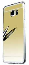 New Ultra Thin Luxury Mirror Soft TPU Case Cover for Samsung Galaxy Smart Phones