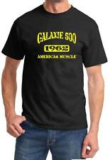 1962 Ford Galaxie 500 American Muscle Car Color Design Tshirt NEW Free Ship
