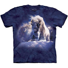 HIS DIVINE PRESENCE Bison The Mountain Native American Buffalo T-Shirt S-3XL NEW