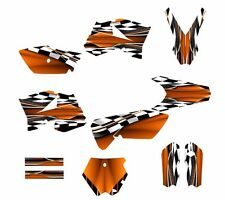 KTM SX 85 SX105 graphics kit 2006 2007 2008 2009 2010 2011 2012 #2500-Orange