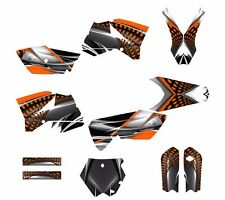 KTM SX 85 SX105 graphic kit 2006 2007 2008 2009 2010 2011 2012 #7777 ORANGE