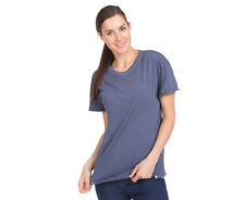 Volcom Women's Lived In Over Dyed Tee - Vintage Navy