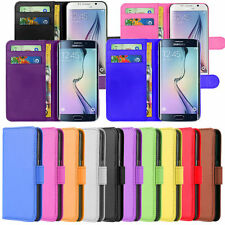 Phone Case Cover PU Leather Magnetic Book Flip Wallet For Samsung LG Huawei