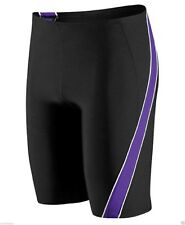Speedo Boys/Mens Mercury SPL Jammer Swimsuit Waist BLK/PURPLE Sizes 20-28