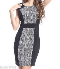 Izabel Black Jersey Shift Tight Office Party Dress Gown (NEW) Different sizes