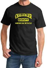 2009 Dodge Challenger American Muscle Car Color Design Tshirt NEW Free Ship