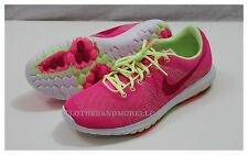 NIKE FLEX FURY GS SHOES GIRLS NIB 705460-600 PINK SIZE 7Y  675911186961