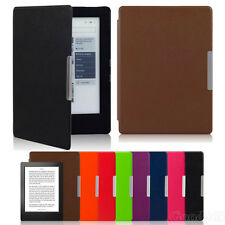 Magnetic Auto Sleep Leather Cover Case For KOBO AURA H2O eReader+Touch Pen+Film