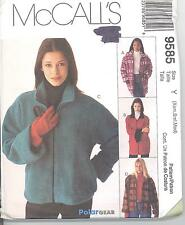 McCall's 9585 Misses' Lined Jacket in Two Lengths   Sewing Pattern