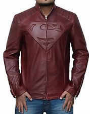 Sale on Superman Red Smallville Synthetic Leather Shield Jacket