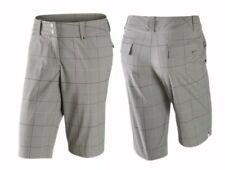 Brand New Nike Womens Tech Classic Plaid Short Tumbled Grey Multiple Size