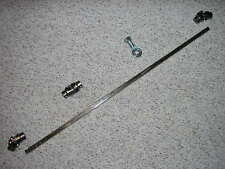 "3 U Joint 36"" Steering Shaft Support Kit TWO 3/4""DD x 3/4""DD 9/16""-26 x 3/4""DD"