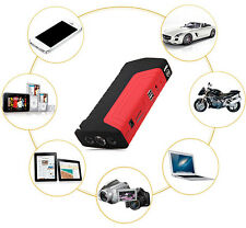 50800mAh Car Jump Starter Emergency Charger Booster Power Bank LED Flashlight