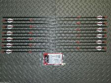New Easton BloodLine 330 Spine Arrows- 8.7 GPI - Blood Line - Cut & Insert Av