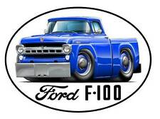 1957 Ford F-100 Classic Truck Vinyl Sticker Decal NEW FREE SHIPPING
