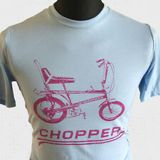 Chopper Bike  New T Shirt Raleigh Grifter Cool Retro 70's 80's Vintage Cycle LB
