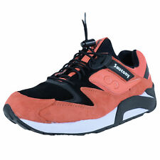 SAUCONY GRID 9000 BUNGEE PACK RUNNING SHOES CORAL BLACK S70196-2