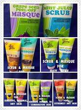 QUEEN HELENE SCRUB AND MASQUE SETS SELECT DESIRED FACIAL KIT SET