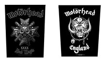 # MOTORHEAD  - OFFICIAL GIANT SEW-ON BACKPATCH bad magic / england logo patch
