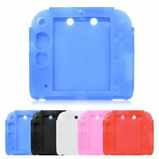 Protective Soft Silicone Rubber Gel Skin Case Cover Skin fr Nintendo 2DS Console