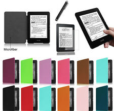 2016 Fashion Design PU Leather Case Cover Skin For Amazon Kindle Paperwhite
