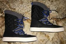 NEW Womens 7.5 10 ALDO Thessa Faux Fur Suede Quilted Winter Ankle Sneaker Boots