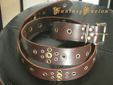 Steampunk Fashion Futurist Leather Belt