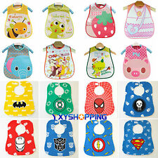 Baby Kids Toddler Infant Lovely Boys Girl Bibs Waterproof Saliva Towel Feeding