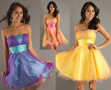 Short Mini Cocktail Homecoming Party Evening Bridesmaid Dress Formal Prom Dress