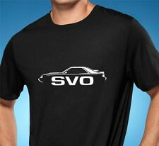 1984 1985 1986 Ford Mustang SVO Classic Muscle Car Tshirt NEW FREE SHIPPING