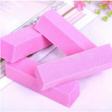 1/5/10Pcs Nail Art Buffer Pedicure Block File Manicure Buffing Sanding Polish LL
