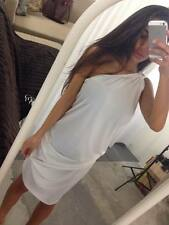AUSTRALIAN MADE One Shoulder Toga Drape Dress Short Sexy Many Colours One Size