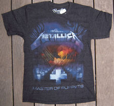 METALLICA MASTER OF PUPPETS CHARCOAL T-SHIRT NEW SIZES SMALL THROUGH XL LICENSED