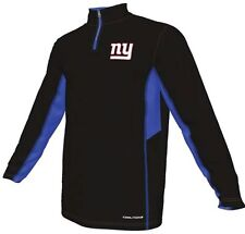 New York Giants NFL Mens Synthetic 1/4 Zip Lightweight Fleece Big & Tall Sizes
