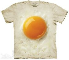 Fried Egg The Mountain Adult Size T-Shirt