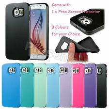 Ultra Thin Soft TPU Silicone Back Case Cover Skin for Samsung Galaxy S6