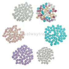 50Pcs 12mm Round Beads Resin Rhinestone Flatback Scrapbooking Phone Case/Wedding