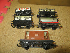 Job Lot Of 4 tankers and Gaurds van Hornby and Triang