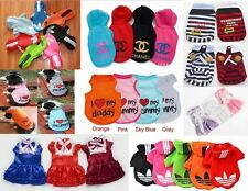 New Fashion Various Pet Clothing Dress Puppy Small Dog Cat Vest T-Shirt Apparel